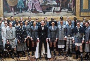 مجموعة أزياء Thom browne