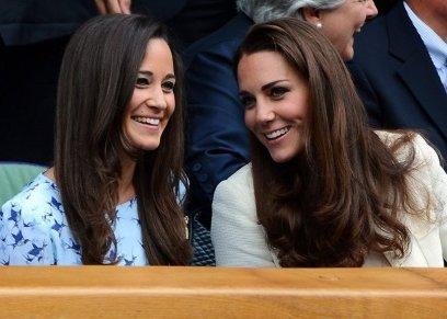 الأميرة كيت وشقيقتها بيبا مديلتون