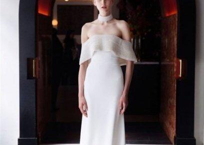 فستان زفاف من تصميم ليلا روز
