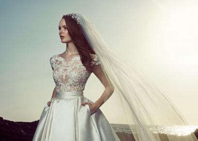 فستان من مجموعة المصمم زهير مراد