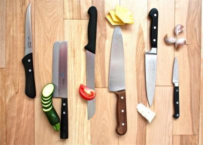 سكينة المطبخ
