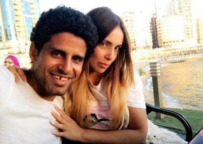 حمدي المرغني وإسراء عبدالفتاح