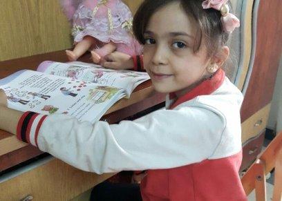 الطفلة السورية بانا العابد