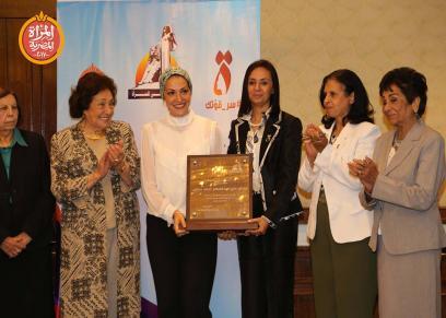 نادية زخاري ومايا مرسي