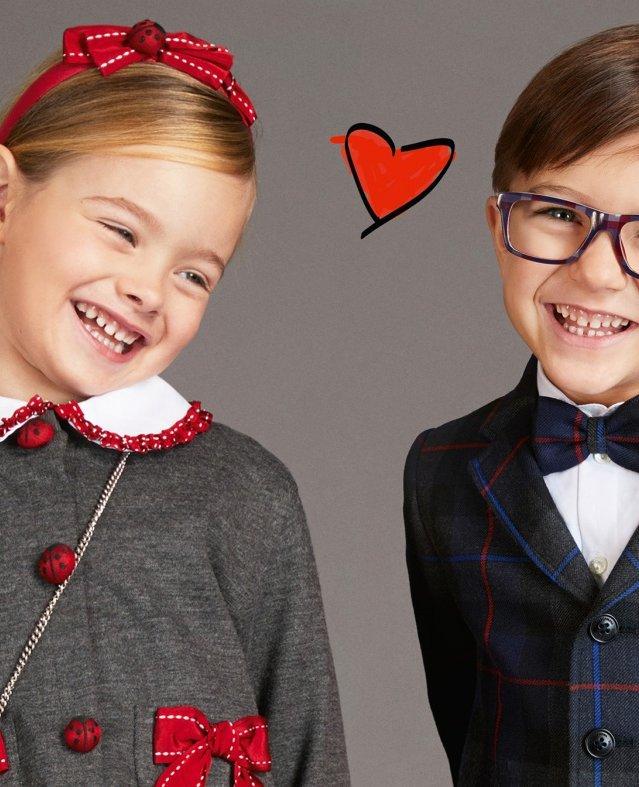 مجموعة الخريف والشتاء للأطفال من Dolce & Gabbana