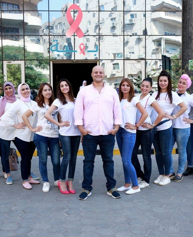 متسابقات ملكة جمال الاناقة يزورن مستشفى بهية