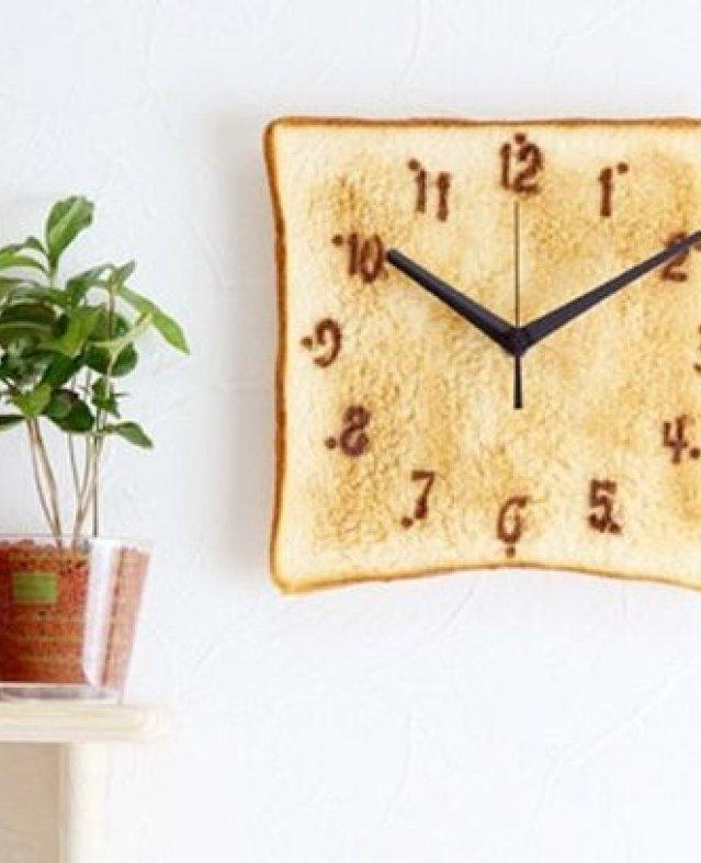 """تصميمات """"ساعات حائط"""" متنوعة للمطبخ العصري"""