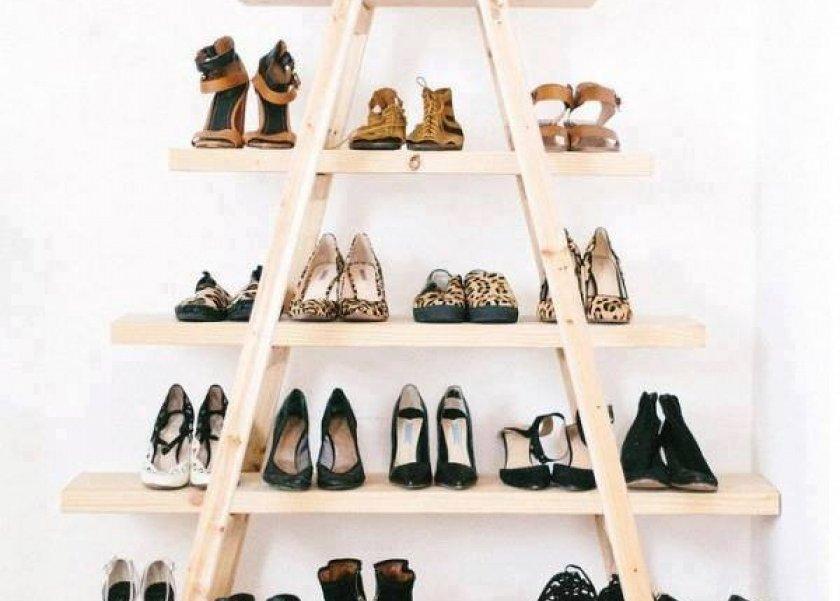 إحدى طرق تنظيم بالأحذية