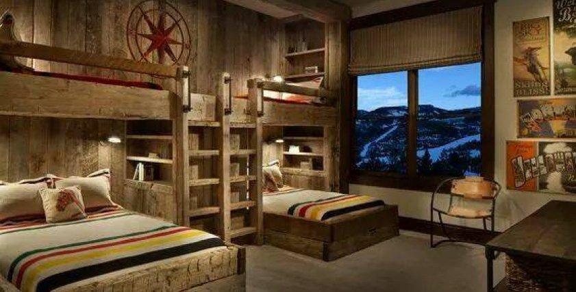 أفكار مميزة لغرف نوم متعددة الأسرة