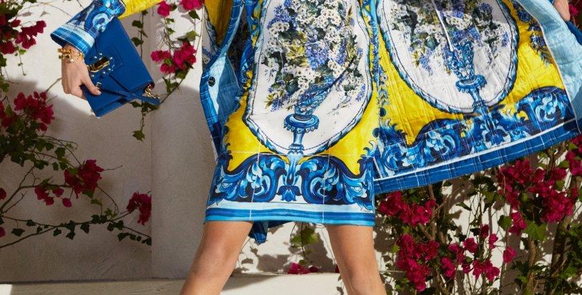 """""""الورود"""".. أحدث تصميمات أزياء خريف 2017 من """"Dolce & Gabbana"""""""
