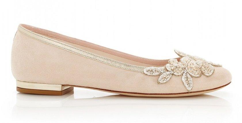 """للعروس.. أحذية """"دون كعب"""" لمزيد من الراحة والانطلاق في زفافك"""